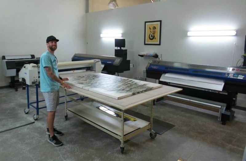 Custom Art Printing Shop