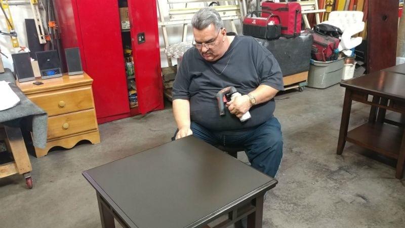 Furniture Repair Department